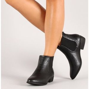 Bamboo charm-02 Chelsea boots